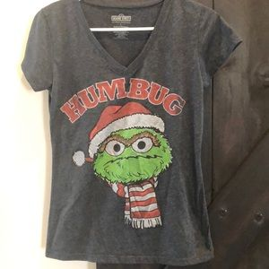 Humbug Sesame Street Oscar the Grouch tee shirt